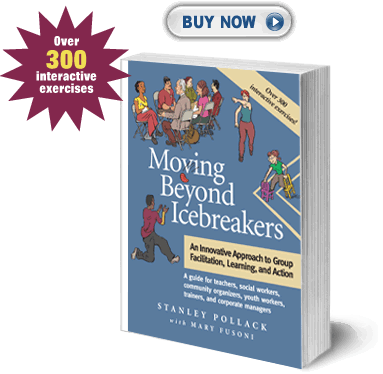Book cover: Moving Beyond Icebreakers